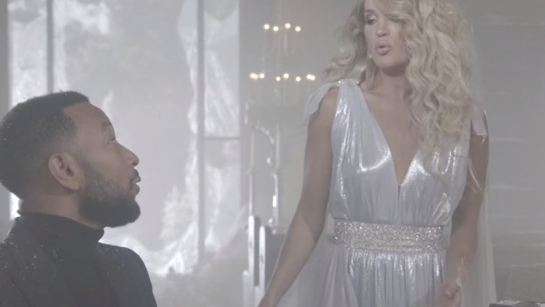 Carrie Underwood y John Legend Hallelujah